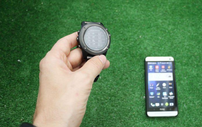 Подключение Garmin Fenix 3 к смартфону через Bluetooth