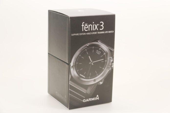 Распаковка часов Garmin Fenix 3