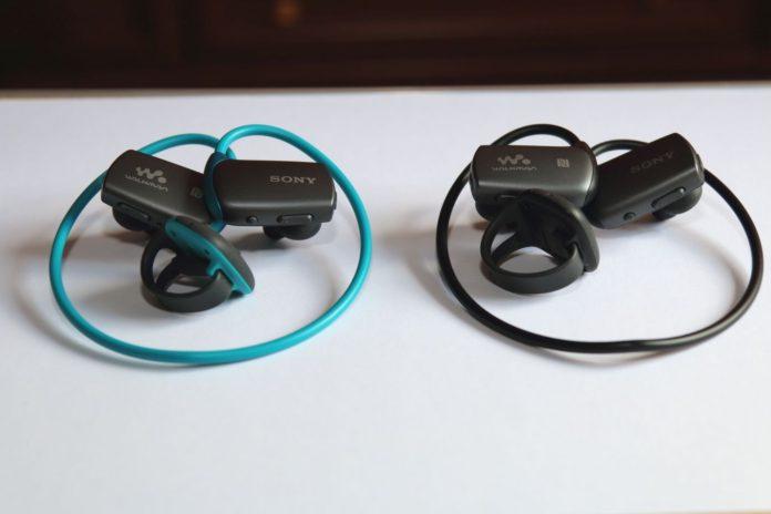 Водонепроницаемый MP3 плеер Sony Walkman NWZ-WS613 для активных спортсменов