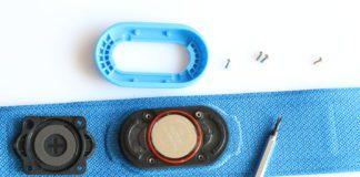 Как заменить батарейку в пульсометре Garmin HRM-Swim