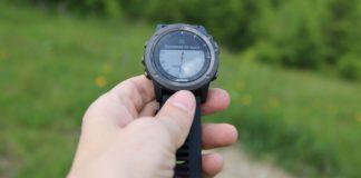 Туристическая навигация в часах Garmin Fenix