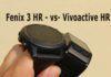 Cравнение моделей Garmin : Fenix 3 HR или Vivoactive HR