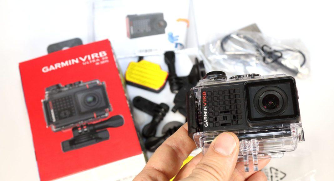 Распаковка экшн-камеры Garmin Virb Utrla 30