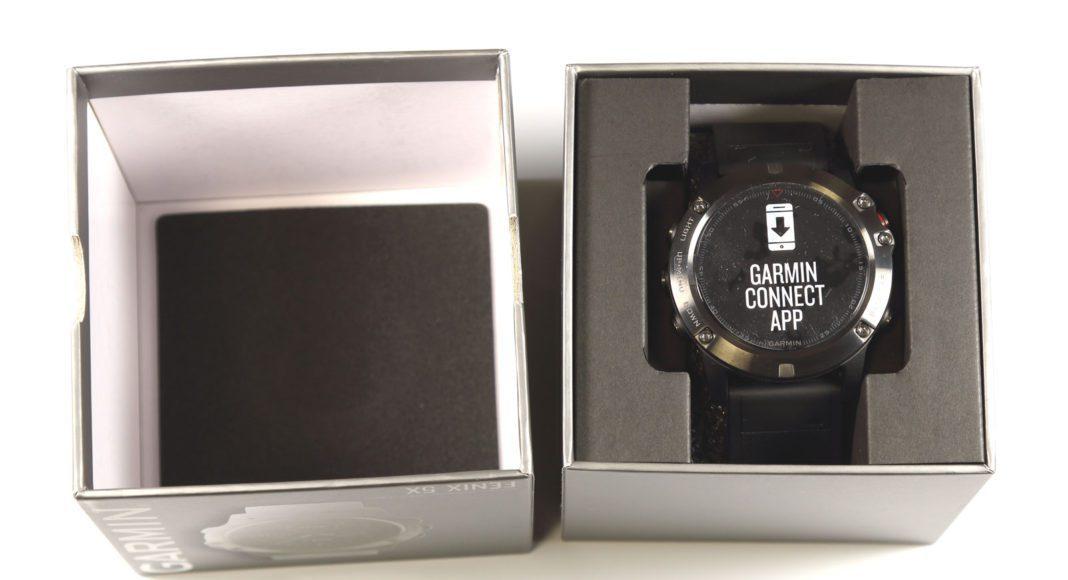 Распаковка Garmin Fenix 5X