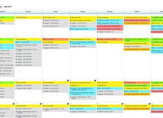 Как работать с календарем Garmin