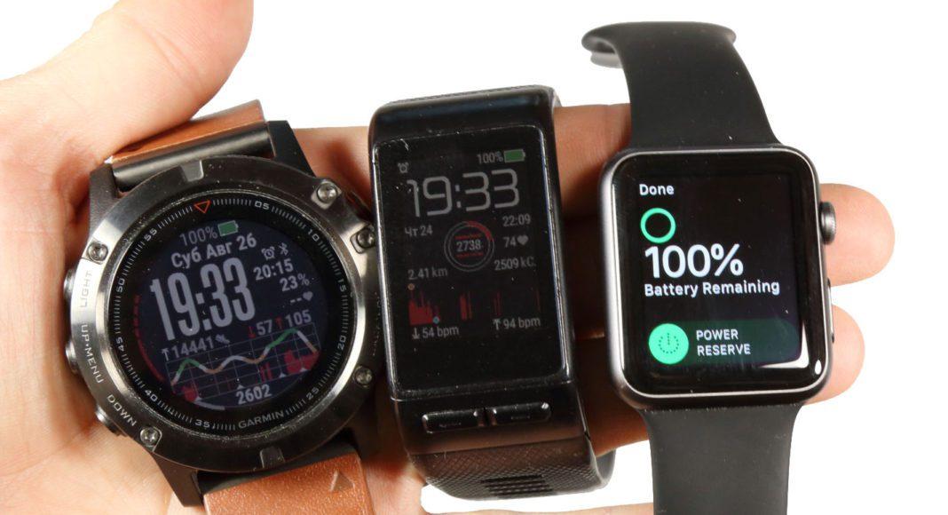Что лучше? Apple Smart Watch или Garmin Fenix