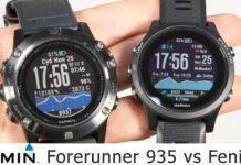 Что лучше выбрать: Garmin Forerunner 935 vs Fenix 5X