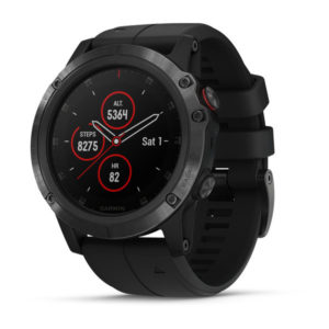 Garmin Fenix 5x Plus black