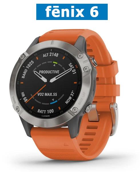 часы для спорта и походов Fenix 6