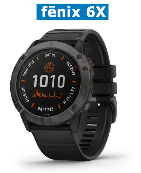 Автономные часы для спорта и походов Garmin Fenix 6X