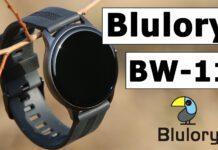 Обзор дешевых часов Blulory BW11